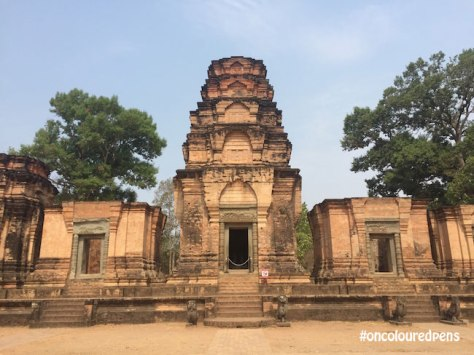 Angkor Temples, Cambodia by oncolouredpens